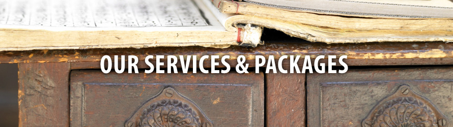 Our Services and Packages